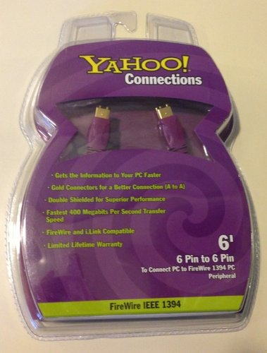 yahoo-connections-6-fire-wire-ieee-1394-6-pin-to-6-pin-computer-cable