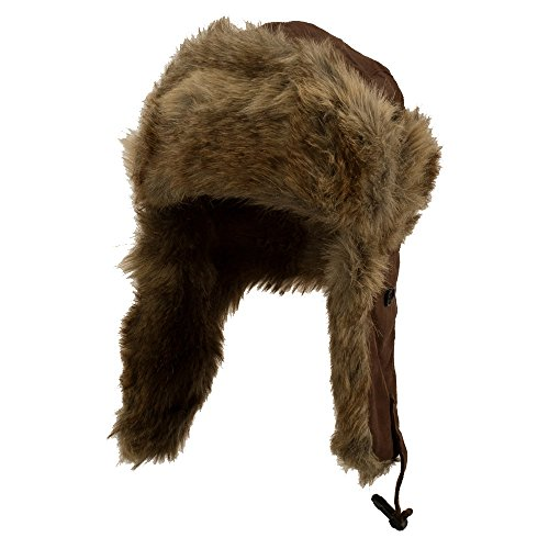 New Suede ML Winter Trooper Hat - Brown OSFM