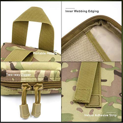 Yuan Ou Trousse de Secours Pet First Aid Kit Survival Kit Military Dog Emergency Set Bag Medicine Organizer 4