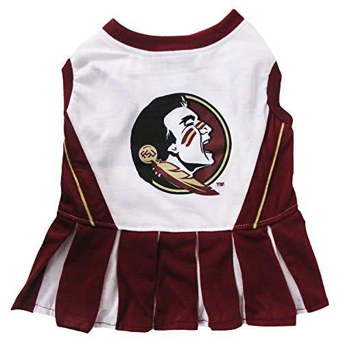 NCAA Florida State Seminoles Dog Cheerleader Outfit, Small]()