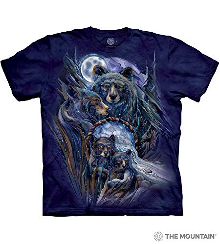 - The Mountain Journey To The Dreamtime Adult T-Shirt, Blue, 2XL