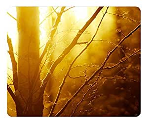 Mouse Pad Winter Light 3 Desktop Laptop Mousepads Comfortable Office Mouse Pad Mat Cute Gaming Mouse Pad by runtopwell
