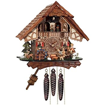 Amazon Com River City Clocks One Day Musical Cuckoo Clock