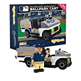 MLB Milwaukee Brewers Buildable Ballpark Cart, Small, White