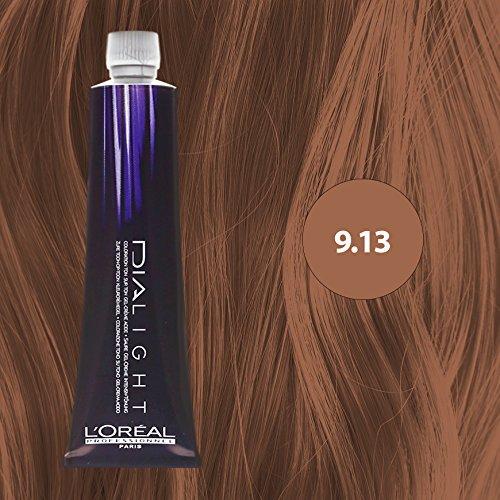 L Oréal Professionnel Dialight 9 13 Sehr Helles Blond Asch Gold 50