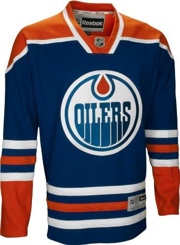 best website 85694 18bd2 Reebok Edmonton Oilers Premier NHL Jersey Home