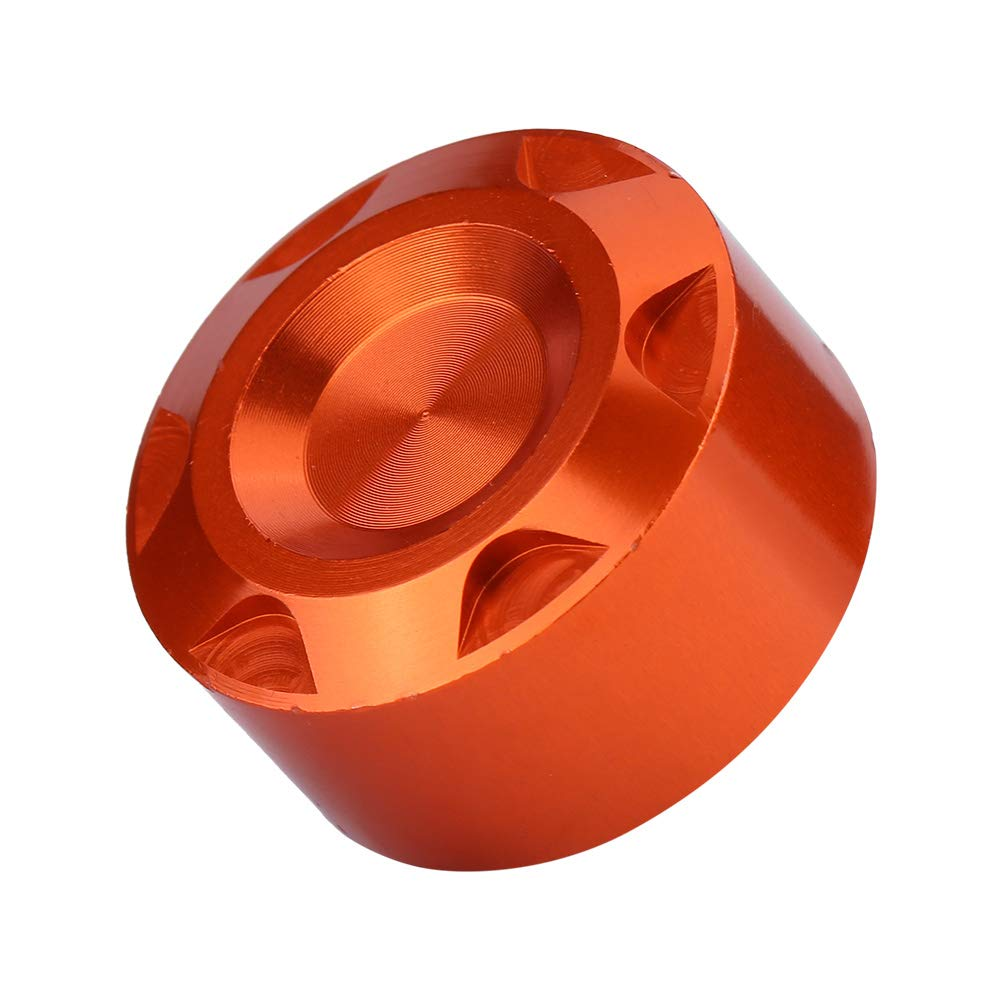 KIMISS CNC + Aluminum Alloy Radiator Water Pipe Cap Cover Automotive Parts Brake Fluid Reservoir Cap For KTM