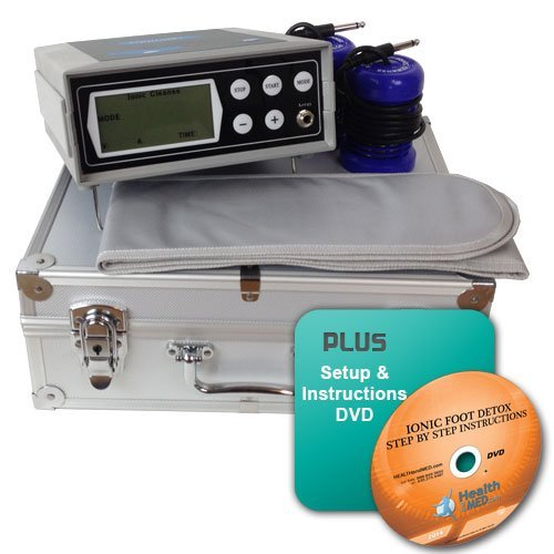 Ionic Detox Foot Bath Far Infrared with 5 Detox Modes - No Wrist Strap + DVD
