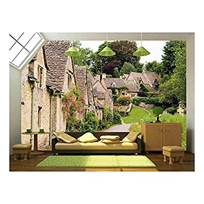 Picturesque Old Stone Houses of Arlington Row in the Village of Bibury England, Professional Creation, Delightful Composition