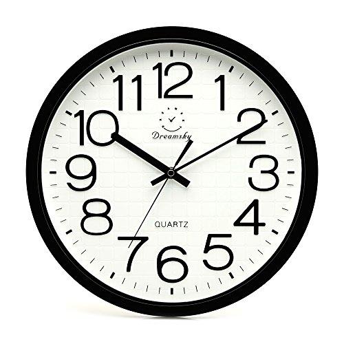 DreamSky Large Wall Clock, 12.5
