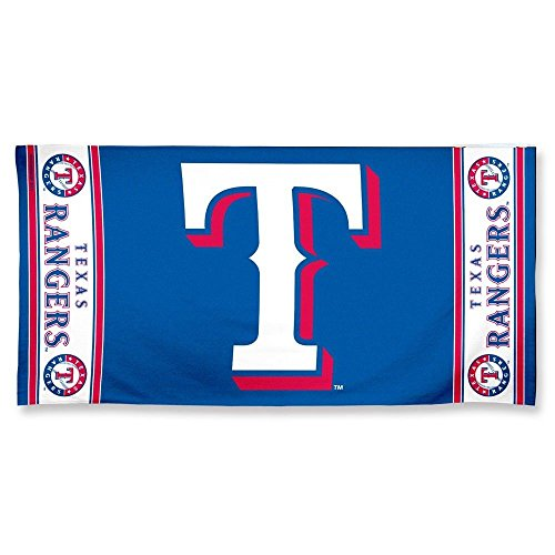 Wincraft MLB Texas Rangers Beach Towel, Team Color, One Size ()