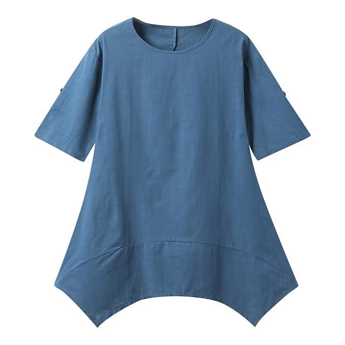 Culater Vestido Vestido De Verano De Algodón De Gran Tamaño para Mujer. Vestido De Mujer.: Amazon.es: Ropa y accesorios