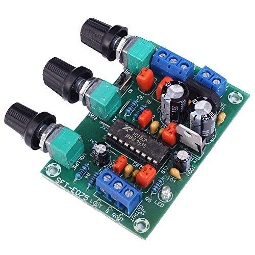 REES52 12V Preamplifier XR1075 BBE Sound Surround Effect Amplifier Preamp Board Module