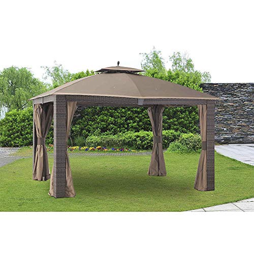 ABCCANOPY Replacement Canopy roof ONLY FIT for Gazebo Replacement L-GZ815PST-1