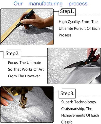 Silver Shimmer Sequin Fabric Photography Backdrop (20FTX10FT) by ShiDianYi (Image #5)
