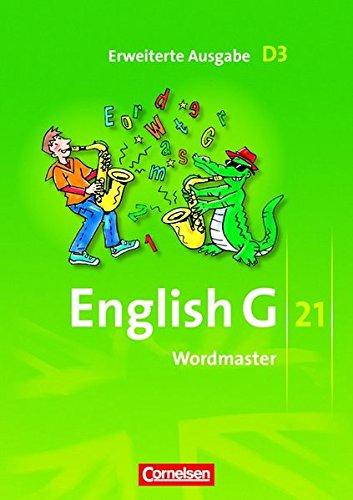 English G 21 - Erweiterte Ausgabe D: Band 3: 7. Schuljahr - Wordmaster: Vokabellernbuch