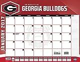 Turner Licensing Sport 2017 Georgia Bulldogs Desk Pad Calendar, 22