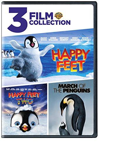 Happy Feet/Happy Feet 2/March of the Penguins (DVD) (Triple -
