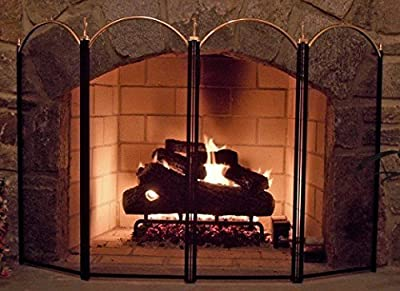 Amagabeli Fireplace Screen
