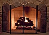 Large Gold Fireplace Screen 4