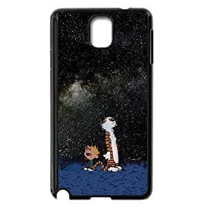 Calvin and Hobbes Starry Night Samsung Galaxy Note 3 Cell Phone Case Black Delicate gift AVS_701307