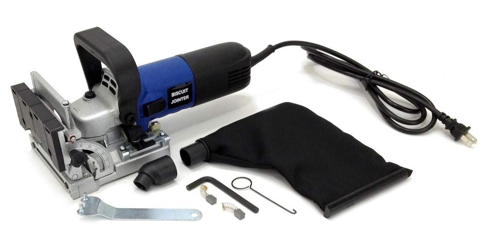 """ELECTRIC BISCUIT JOINER KIT 4"""" inch BLADE, DUST"""