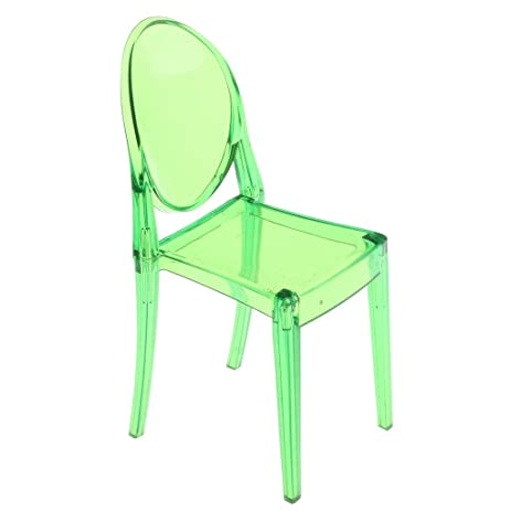 Delicieux Dovewill Dollhouse Furniture Modern Style Green Ghost Chair For 1/6 Blythe  BJD Pullip Baribie
