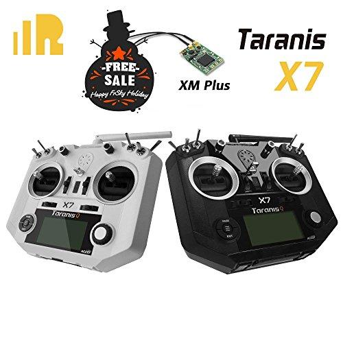 FrSky 2.4G ACCST Taranis Q X7 16 Channels Transmitter White   FrSky XM+ for FREE
