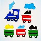 GelGems Train Small Bag Gel Clings