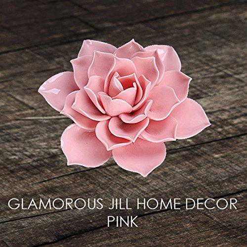 (Glamorous Jill Ceramic Lotus Incense Holder (Glossy Finish) (Pink))