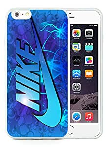 New Antiskid Designed Cover Case For iPhone 6 Plus 5.5 Inch With Nike 18 White Phone Case