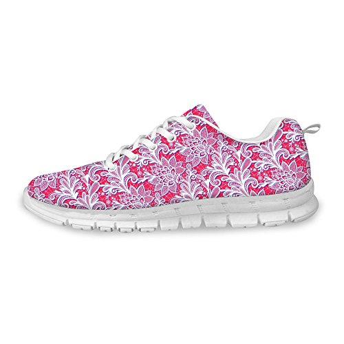 FOR U DESIGNS Stylish Womens Fashion Sneaker Flex Light Mesh Breathable Running Shoes