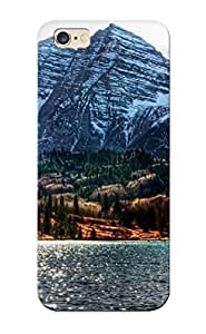 New Style Warmsmile Water Mountains Landscapes Nature Snow Trees Forests Colorado Lakesphotography Brightness Maroon Bells Premium Tpu Cover Case For Iphone 6 Plus