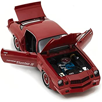 Amazon.com: 1981 Chevrolet Camaro Z/28 Yenko Turbo Z Red 1/18 Diecast Model Car by Greenlight 12999: Toys & Games