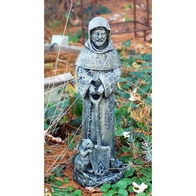 LadyBug St. Fiacre Outdoor Statue, Moss by Ladybug