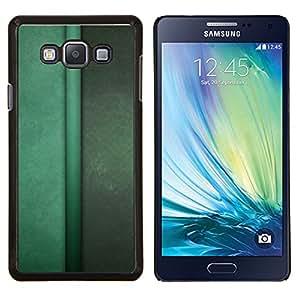 Stuss Case / Funda Carcasa protectora - Las líneas verticales de color verde pastel calma - Samsung Galaxy A7 ( A7000 )