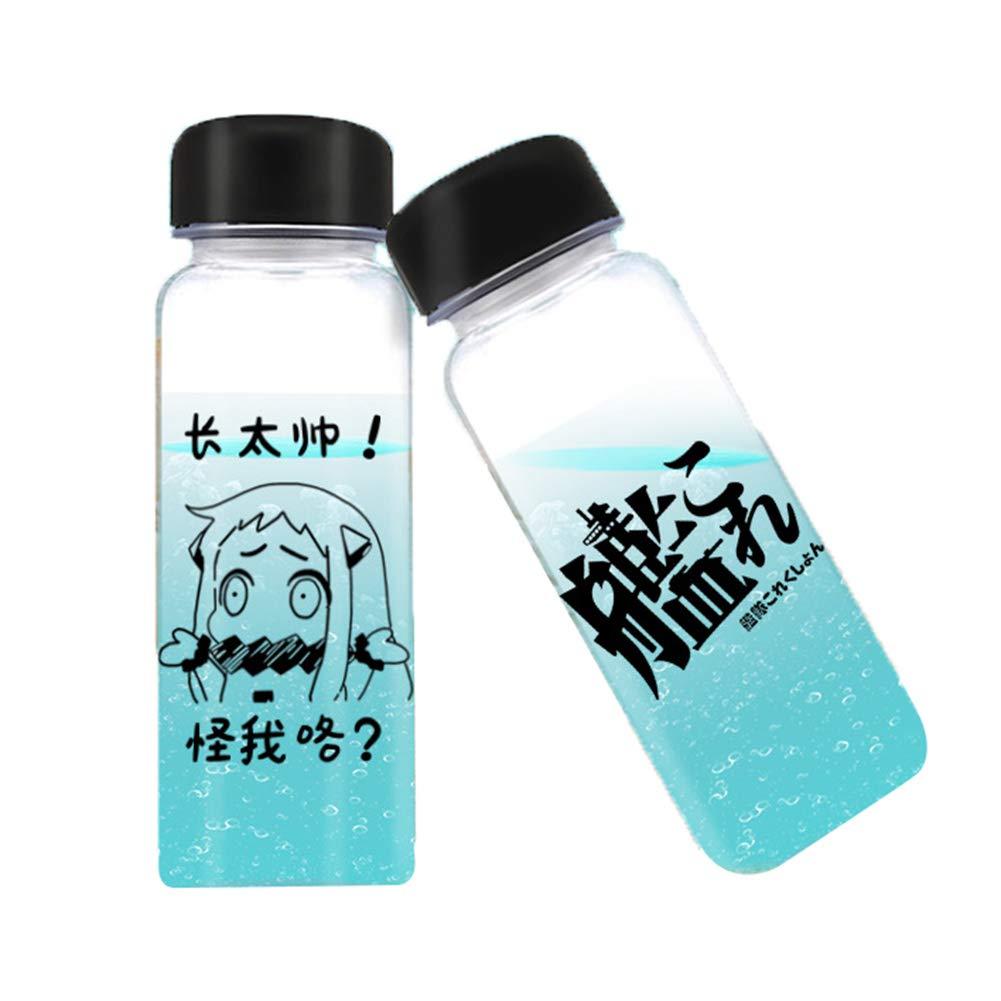 Wasserflasche BPA Frei Sportflasche auslaufsicher ALTcompluser Anime Trinkflasche 500ml