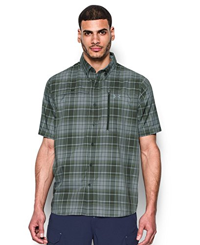 Under Armour Men's UA Tide Swing Plaid Short Sleeve Shirt