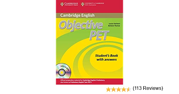 Objective PET 2nd Self-study Pack Students Book with answers with ...