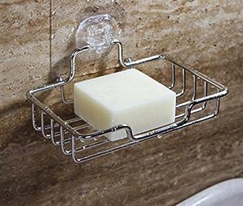 Bandeja de jabón sin agujeros, soporte de barra para ducha, jabón ...