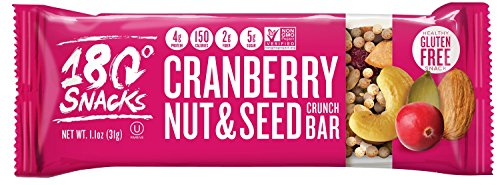 180 Snacks Cranberry Nut & Seed Crunch Bar 1.1 oz (5 Count ()