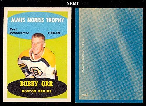 lar (Hockey) card#209 Bobby Orr of the Boston Bruins Grade Near Mint ()