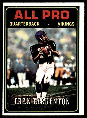 - 1974 Topps #129 Fran Tarkenton AP Ex-Mint Vikings