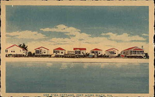 side-osea-cottages-fort-myers-beach-florida-original-vintage-postcard