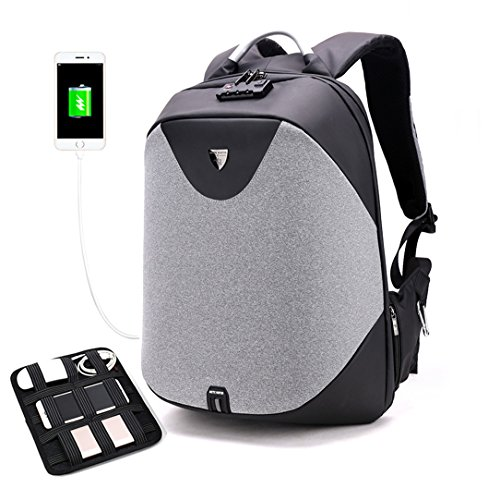 201b86a2ac2 Business Laptop Backpack, Anti Theft Waterproof Travel Backpack with ...