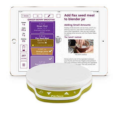 Perfect blend 2 0 smart scale app track nutrition and for Perfect blend smart scale