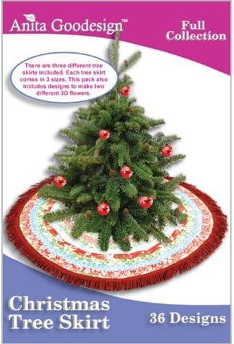 Anita Goodesign boardado diseños de árbol de Navidad: Amazon.es: Hogar