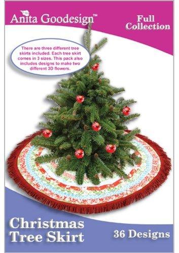 Anita Goodesign ~ Christmas Tree Skirt ~ Embroidery Designs