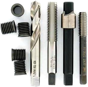 7//16-14 Oversized Big-SERT Kit cast Iron Big or Small Block Thread Repair p//n 5761E