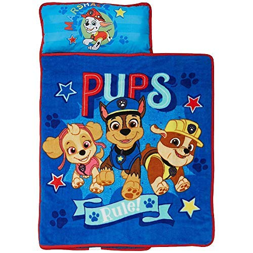 Paw Patrol Kids Nickelodeon Nap Mat with Blanket